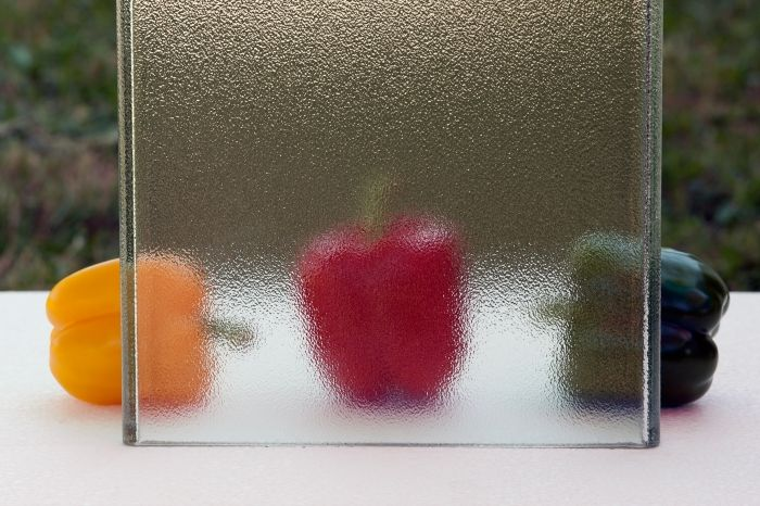 Pilkington Profilit™ - profiled textured glass with a standard ornament no 504.