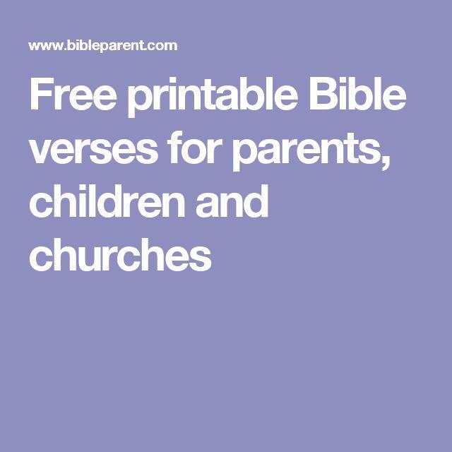 parents and children relationship bible