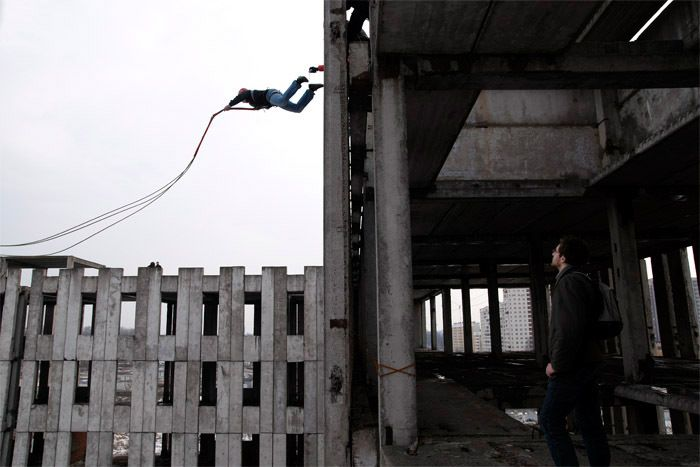 Ropejumping-March 2008 SAINT PETERSBURG