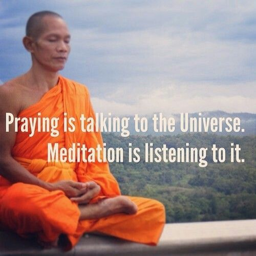 Listen to the universe.                                                                                                                                                                                 More