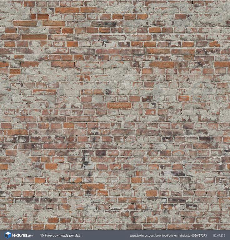 Textures.com - BrickSmallPlaster0080