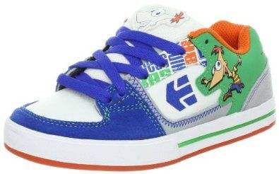etnies Disney Ronin Skate Shoe (Infant/Toddler/Litle Kid/Big Kid) Etnies. $57.00. Rubber sole. Made in Vietnam. Leather/Synthetic