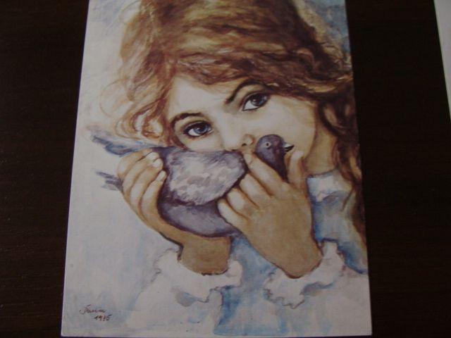 Danuta Muszyńska-Zamorska - Dziewczynka z gołebiem (5983451949) - Allegro.pl - Więcej niż aukcje.