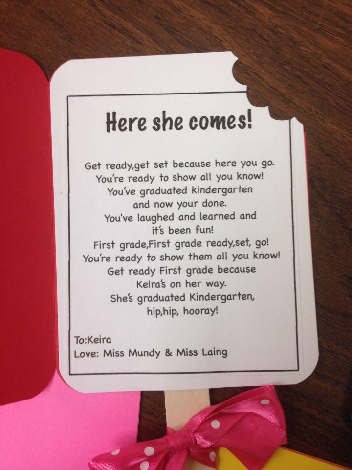 Kindergarten cards