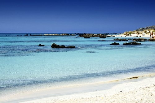 elafonisi Crete  We also love crete as you can see on http://ferienwohnung-kreta.de/ and have some nice photos there!
