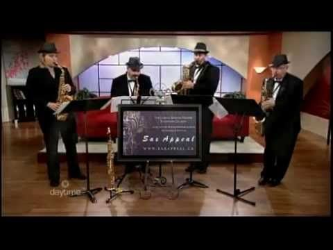 Sax Appeal Performing Ain't Misbehavin' (by Fats Waller - arr. by Lennie Niehaus)    Recorded live (June 17, 2013) on Daytime Ottawa (Rogers Television - Channel 22).    Edited by Storyline Productions: http://storylineproductions.ca