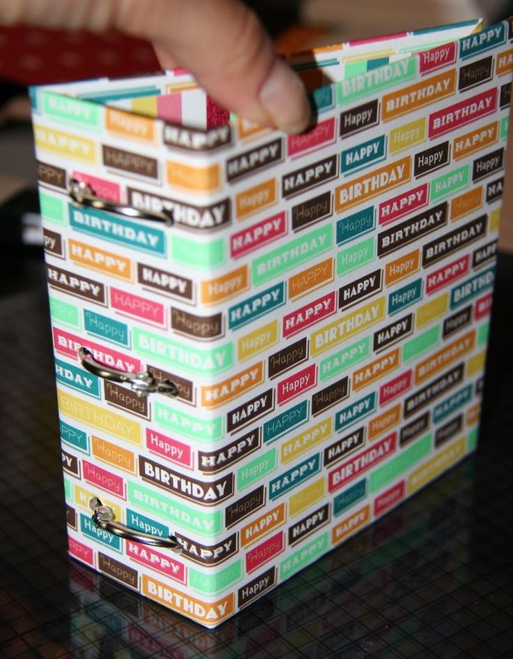 Crafty Steals: Sunday School Tutorial: 3-Ring Binder Mini Album