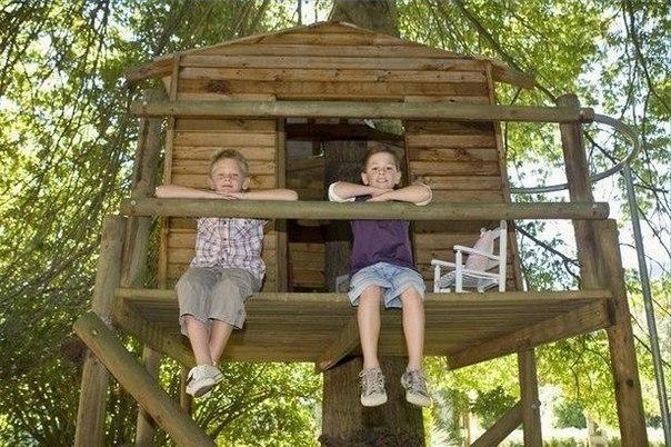 Дом на дереве / Дети - это счастье!