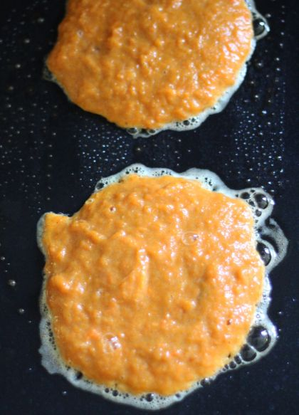 2-Ingredient Sweet Potato Pancakes. Light, fluffy, and most importantly, 2 ingredients.