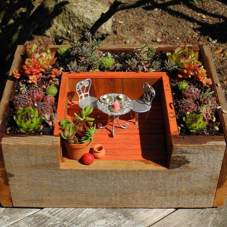 Miniature Garden Patio