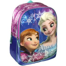 Mochila Frozen de Disney. Tamaño: 31x42x13cm. Composición: 100% Polyester. Adaptable a Trolley. Prepara la vuelta al cole con esta mochila escolar. ¿Le encantará a tu hija!