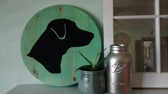 "Check out this item in my Etsy shop https://www.etsy.com/listing/263384834/custom-dog-silhouette-portrait-solid Add a pop of color to any room with this adorable, solid wood painting.  It can be made in any color and most dog breeds.Names can be added as well. Message me with custom requests.  The sign measures 18"" diameter and is a little over an inch thick.   Tags: Affenpinscher, Afghan Hound , Airedale Terrier , Akita ,Alaskan Malamute ,American English Coonhound, American Eskimo Dog…"