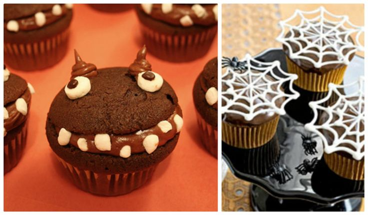 25 Hallowee/Monster cupcakes....august wants these for his birthday