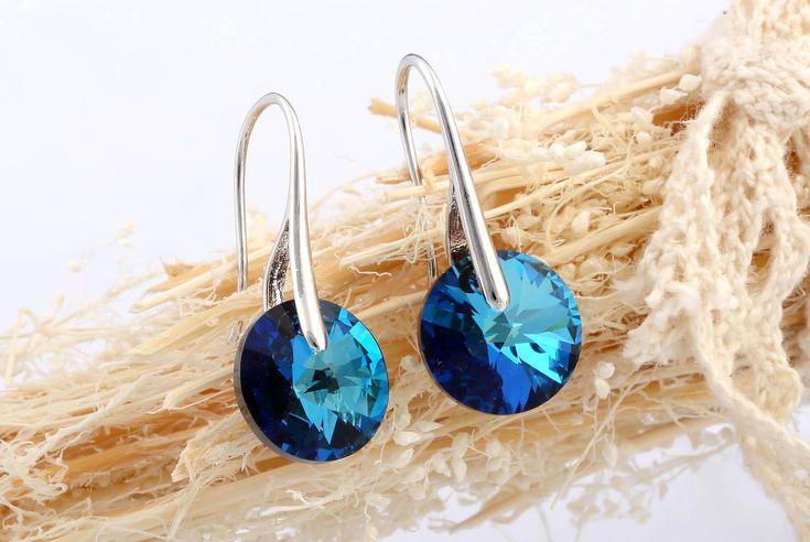 Náušnice se zirkonem #sperky #jewellery #jewelry #fashionjewellery #bizu #earrings #czech #czechgirl #náušnice #zirkon