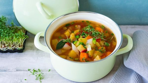 Zeleninové polévky prohřejí organismus a k půstu jednoznačně patří.