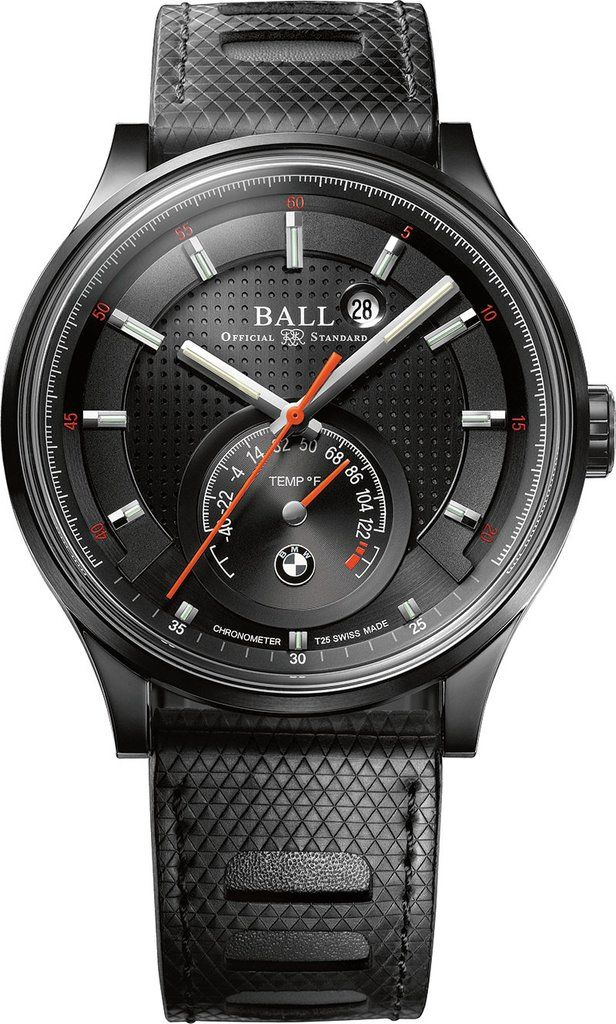 Ball Watch Company For BMW TMT DLC Fahrenheit Scale #bezel-fixed #bracelet-strap-rubber #brand-ball-watch-company #case-depth-13-25mm #case-material-black-pvd #case-width-44mm #cosc-yes #date-yes #delivery-timescale-7-14-days #dial-colour-black #gender-mens #limited-edition-yes #luxury #movement-automatic #official-stockist-for-ball-watch-company-watches #packaging-ball-watch-company-watch-packaging #subcat-ball-for-bmw #supplier-model-no-nt3010c-p1cj-bkf…