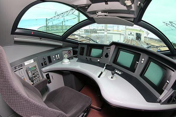 北陸新幹線 運転室