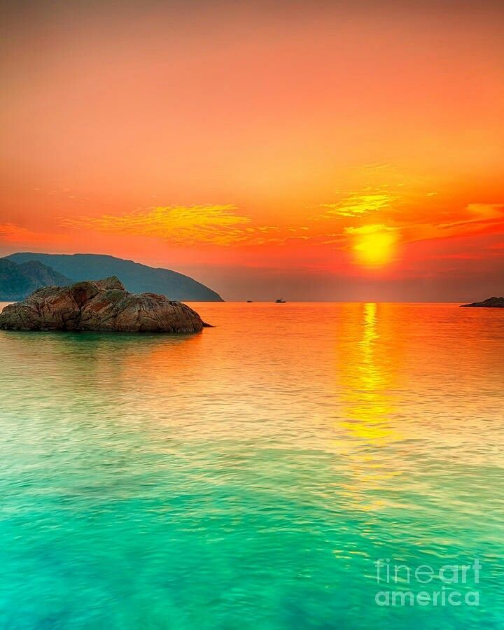 Island Beach Sunset: 55 Best Fiji Sunsets Images On Pinterest