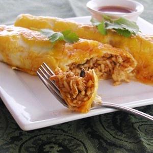 Spicy Chicken Enchiladas   foodraf