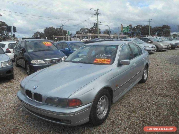 1998 BMW 523I E39 23i Silver Automatic 5sp A Sedan #bmw #523i #forsale #australia
