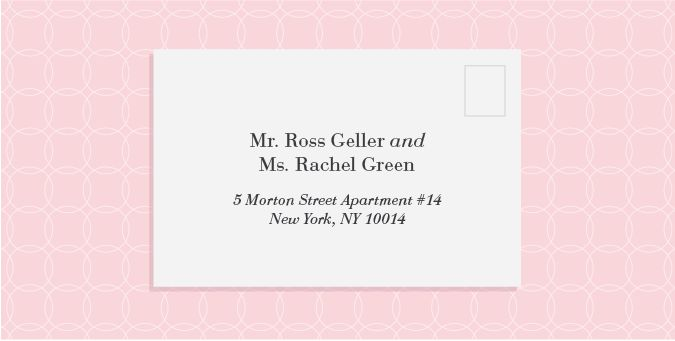 When Do You Send Invitations For Wedding: HOW TO PROPERLY ADDRESS YOUR WEDDING INVITATIONS