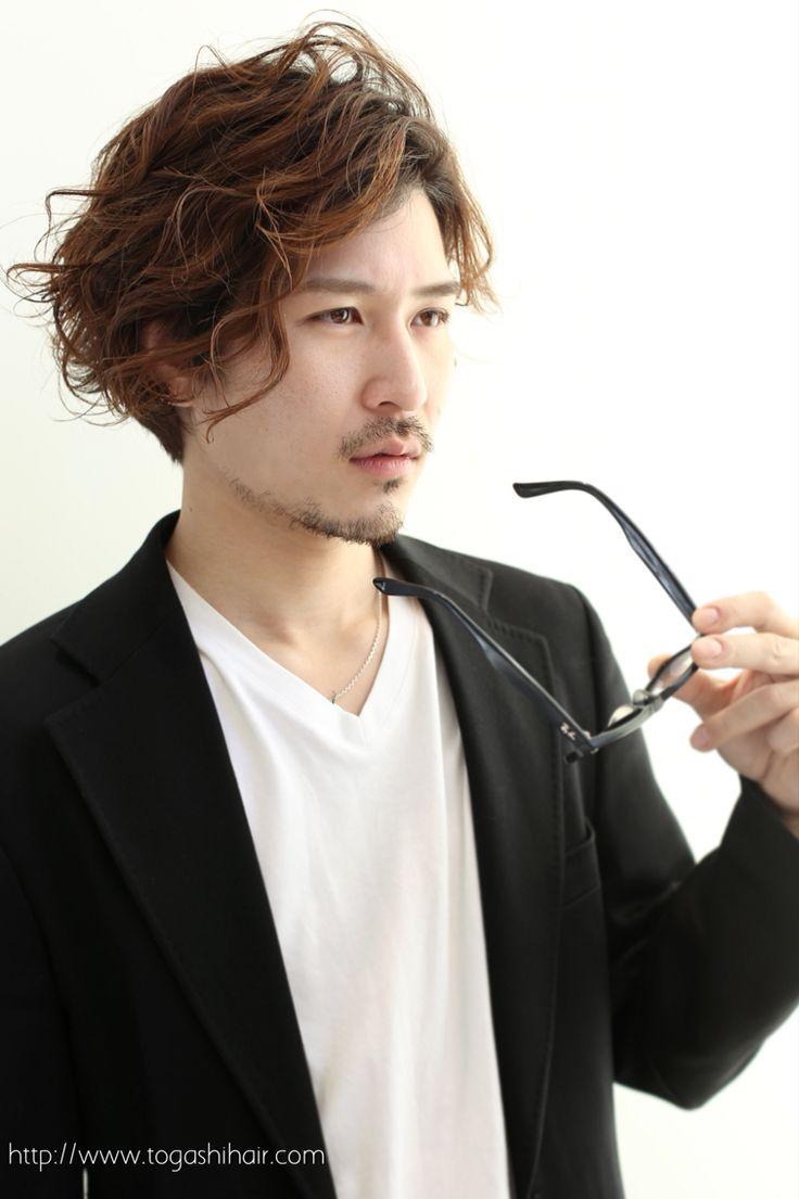 【togashihair】大人カジュアルパーマ http://www.togashihair.com/?p=4926 《#メンズヘアスタイル#カット#髪型#menshairstyle#パーマ#カラー》