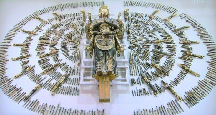 Senjukannon (thousand hands buddha), Toshodaiji TempleToshodaiji Temples, Hands Buddha