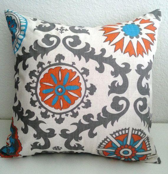 Decorative Pillows In Aqua