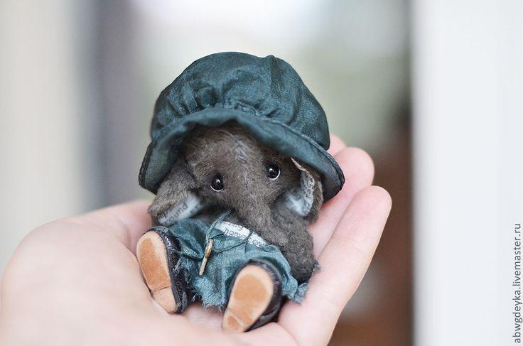 Купить Слоняшка Полин - слон, слоник, слоненок, авторская ручная работа, авторская игрушка, тедди