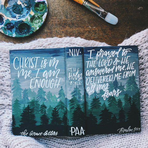 Introducing hand painted bibles by The Hipster Housewife! This is something you guys have been asking about for quite some time, and I am super please to be offering these custom bibles for men now as well! They make perfect gifts for your loved ones and for yourself. What a beautiful gift to give a new believer at their baptism!  Each one of these bibles are unique and one of a kind, just like the person they belong to. I have two different options, you can send me your bible and I can…