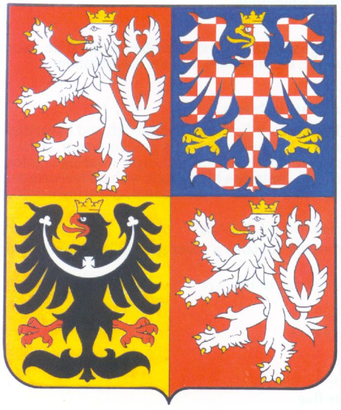 Czech republic national coat of arms