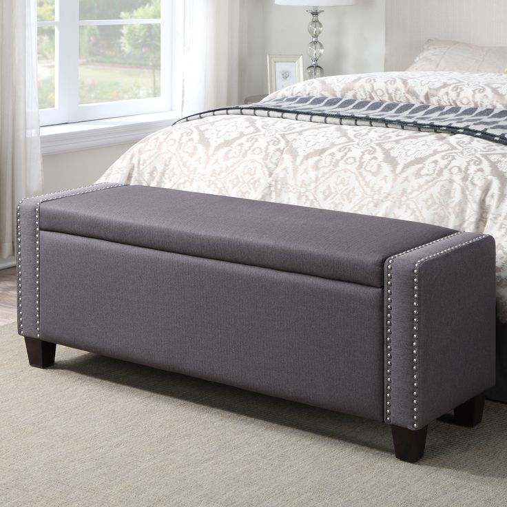 14 best Bedroom Storage bench images on Pinterest   Bedroom storage ...