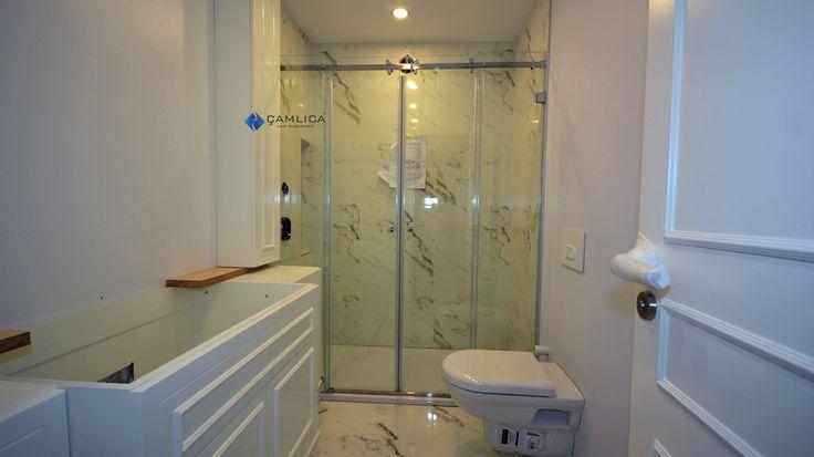iki sabit iki hareketli duş kabin