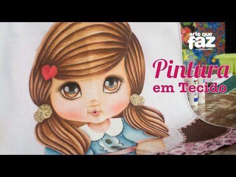 Pintura em Tecido (Thanynha Ávila) - YouTube