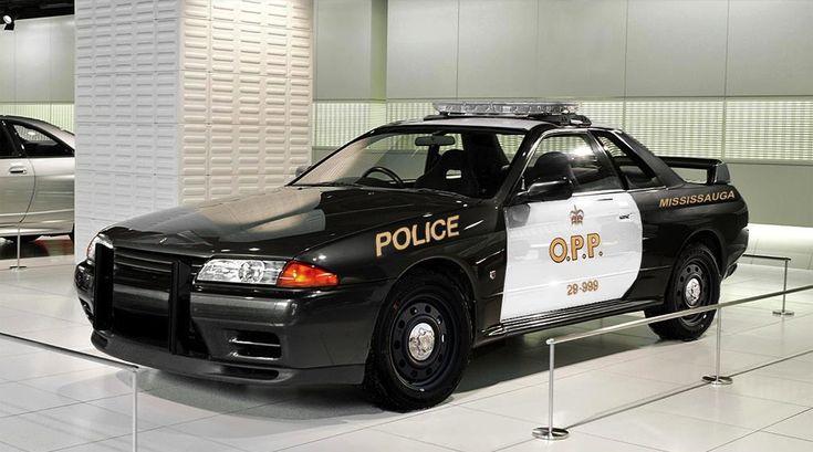 nissan skyline gt r r32 police car http www. Black Bedroom Furniture Sets. Home Design Ideas