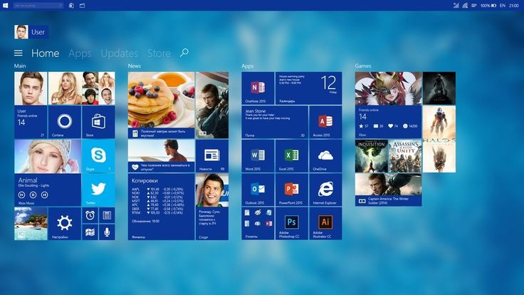 This Start Screen Would Really Make Sense in Windows 10