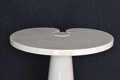 Vintage Marmor Tisch Angelo Mangiarotti Beistelltisch Skipper side table Italy