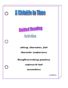 Best seller! My 21 page packet includes comprehension and strategy activities about the plot, main characters and setting. Also included are respon...