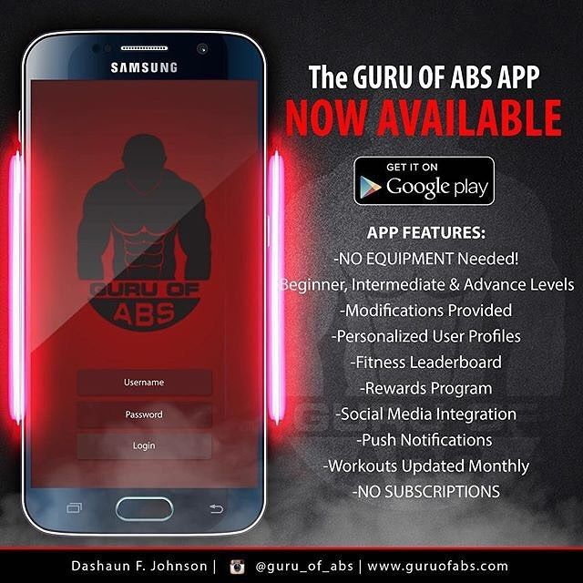 Since my #GuruofAbsApp is only available in #GooglePlay for now ALL of my abdominal enthusiasts that have#iphones/#ipads/#MacBooks can CLICK THE LINK IN MY BIOto view the same daily #StomachSculpting instructional videos that are available in my app.  #GuruofAbsApp Overview:  1-30 Daysof #StomachSculpting instructional videos! 2-NO EQUIPMENT Needed! 3-Beginner Intermediate & Advance Levels  4-Modifications Provided 5-ALL workouts can be done from comfort of your own home!  My mission is to…