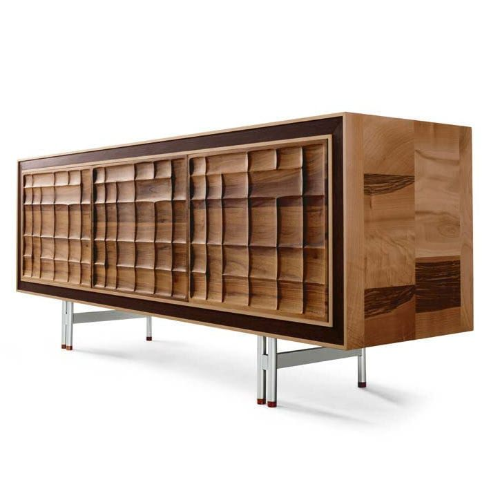 Dale Italia A-113 Sideboard in solid walnut - Natural finish
