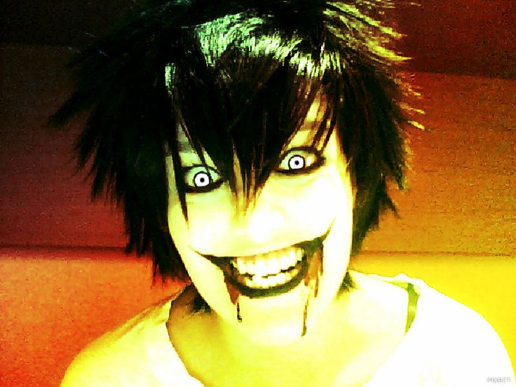 cosplay jeff the killer  creepypasta