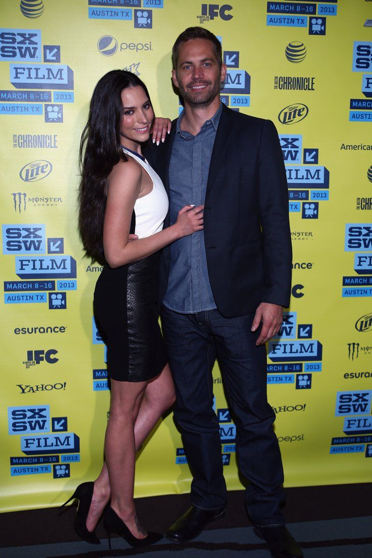 Pin for Later: Paul Walker's Memorable Hollywood Moments  Paul Walker and his costar Genesis Rodriguez promoted their film Hours at the SXSW Film Festival in Austin, TX, in March 2013.