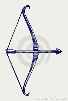 bow and arrow outline - Google Search