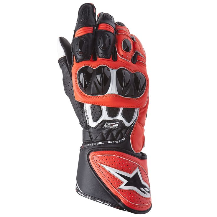 Alpinestars GP Plus R Leather Motorcycle Gloves   Demon Tweeks