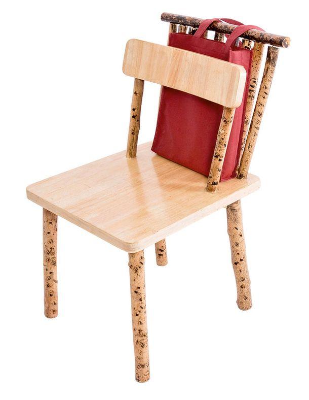 Деревянная мебель waar laat je je handtas nu?