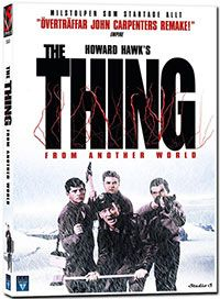 Recension av The Thing From Another World. Science-Fiction av Howard Hawks och Christian Nyby med James Arness, Kenneth Tobey och Robert Cornthwaite.
