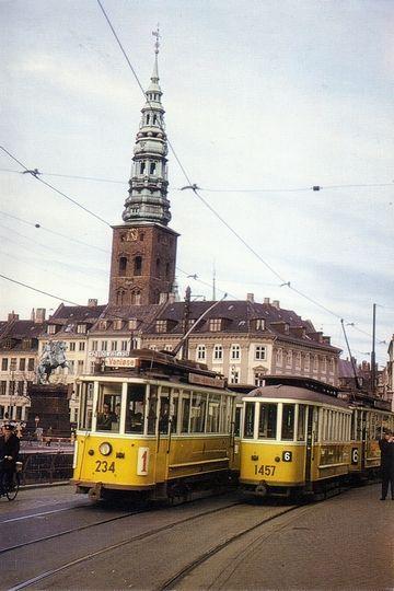 Copenhagen, Denmark in the old days :)