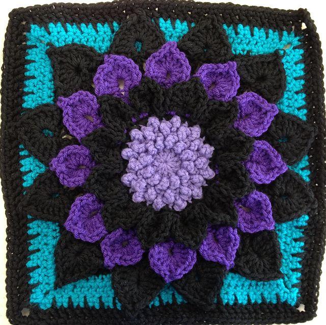 152 Best Haken Granny Squares Crochet Images On Pinterest