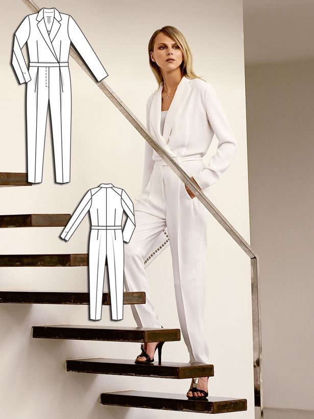 Read the article 'Solo in White: 13 Contemporary Designs' in the BurdaStyle blog 'Daily Thread'.