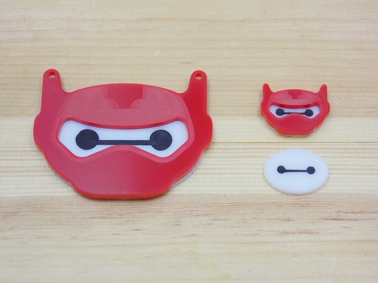 BAYMAX!my own handmade acrylic big hero 6 necklace and earring jewelry set
